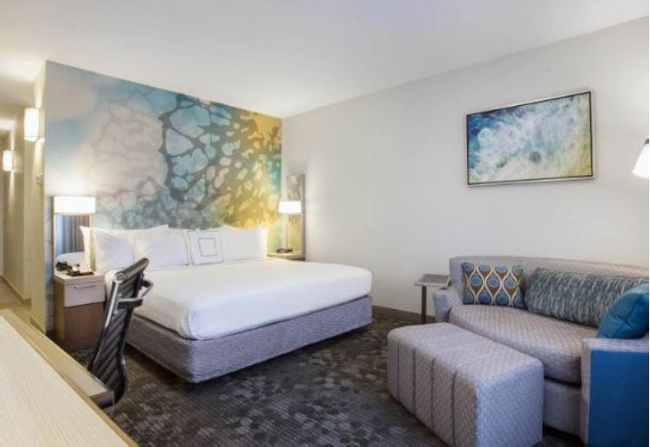 Updated Single Guest Room for Courtyard Marriot Fort Lauderdale Coral Springs