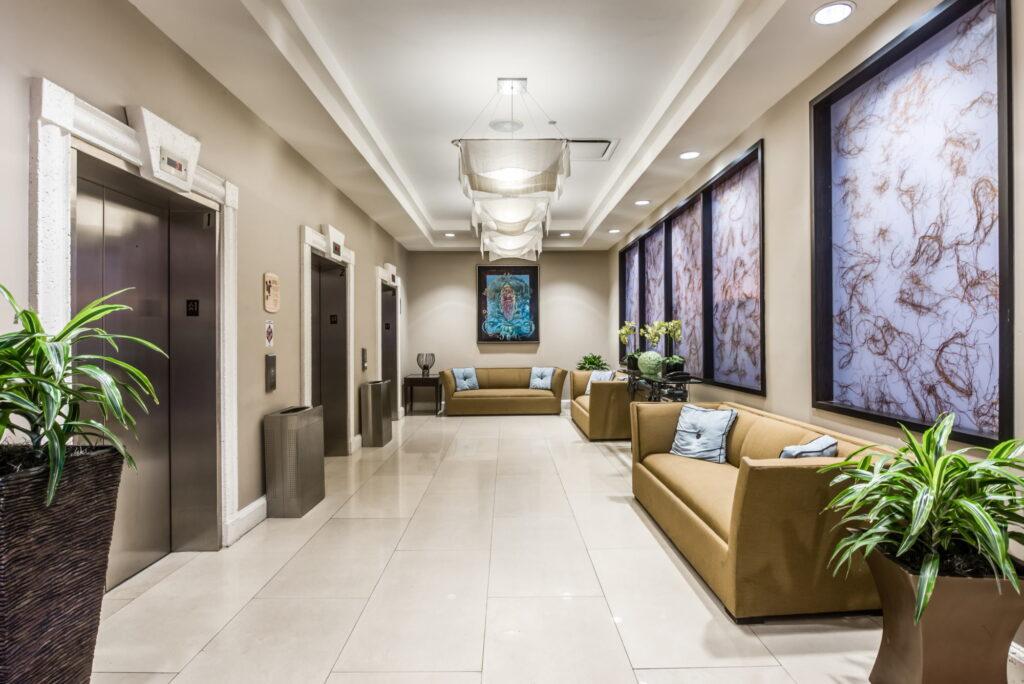 Crowne Plaza Orlando Downtown Hallway