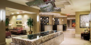 Crowne Plaza Orlando Downtown Lobby and Reception