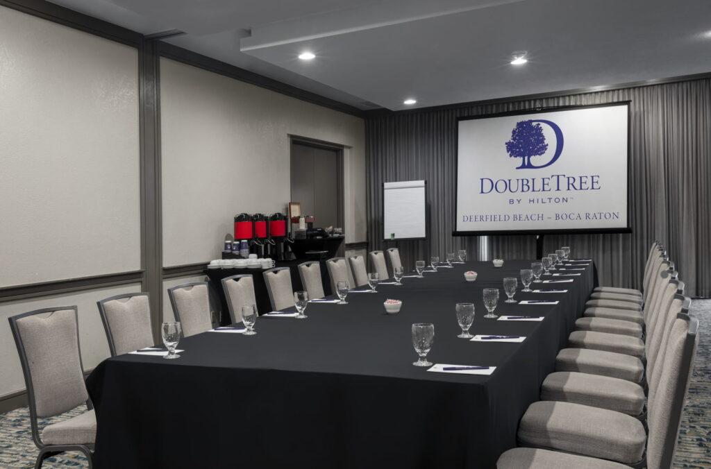 DoubleTree Hilton Deerfield Beach Hillisboro Meeting Room