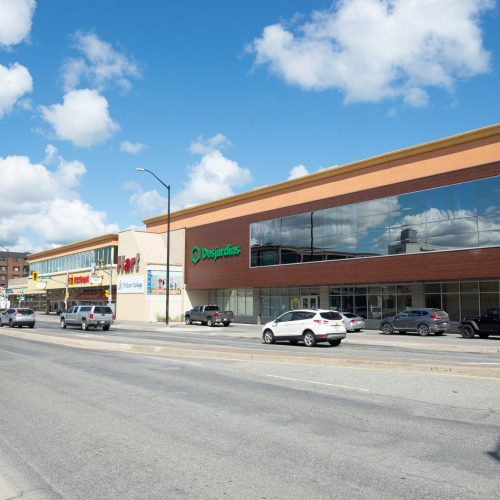 Elm Place Shopping Mall Street View from Side