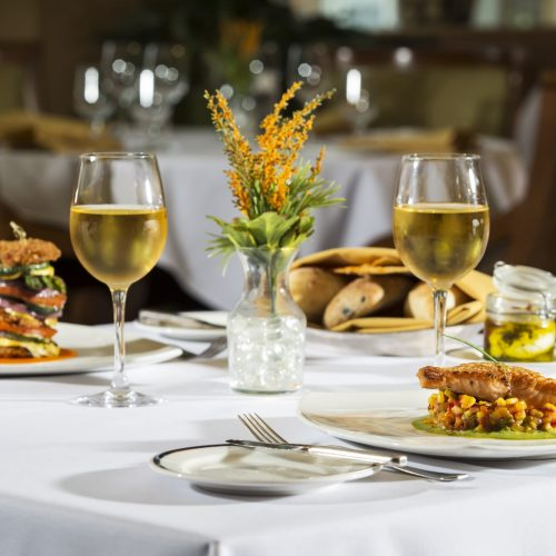 Marina Inn Grande Dunes Resort WaterScapes Restaurant Romantic Dining